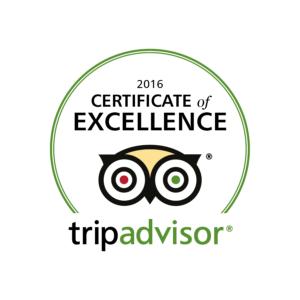 TripAdvisor Awards Us